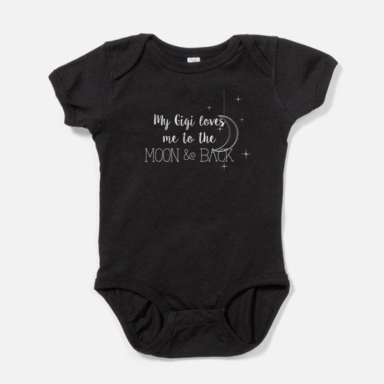 My Gigi Loves me to the Moon & Back Baby Bodysuit