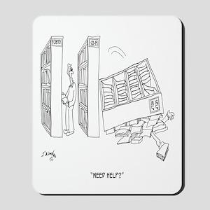Self Help Cartoon 9299 Mousepad