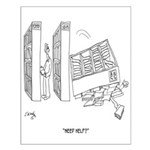 Self Help Cartoon 9299 Small Poster