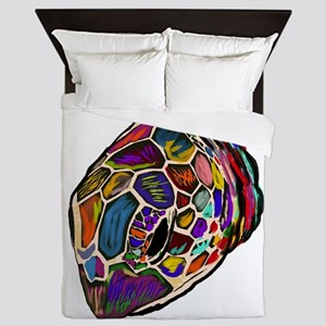 TURTLE TIMER Queen Duvet