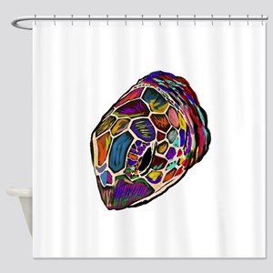 TURTLE TIMER Shower Curtain