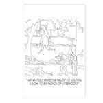 Bigfoot Cartoon 9298 Postcards (Package of 8)