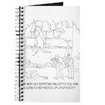 Bigfoot Cartoon 9298 Journal