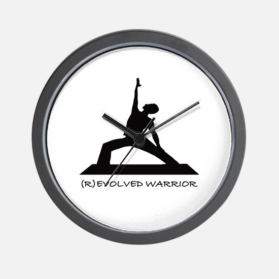 ®evolved Warrior Wall Clock