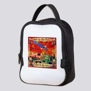 Ticket to the Future Neoprene Lunch Bag