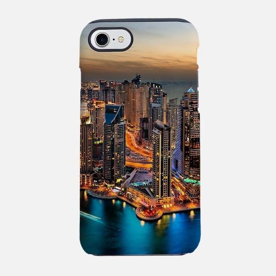 Dubai Skyline iPhone 8/7 Tough Case
