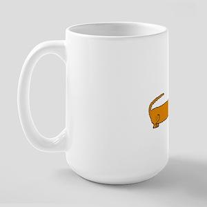 Funny Christmas Dachshund Large Mug