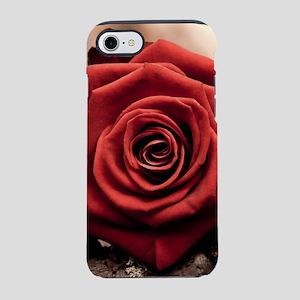 Beautiful Red Rose iPhone 8/7 Tough Case