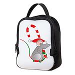 Christmas Tails Neoprene Lunch Bag