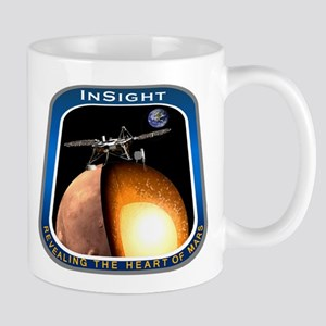InSight Mission Logo Mug
