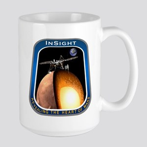 InSight Mission Logo Large Mug