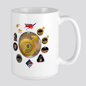 Mars @ 50! Large Mug Mugs
