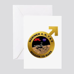 Mariner Program Logo Greeting Cards (Pk of 10)