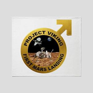 Viking Program Logo Throw Blanket