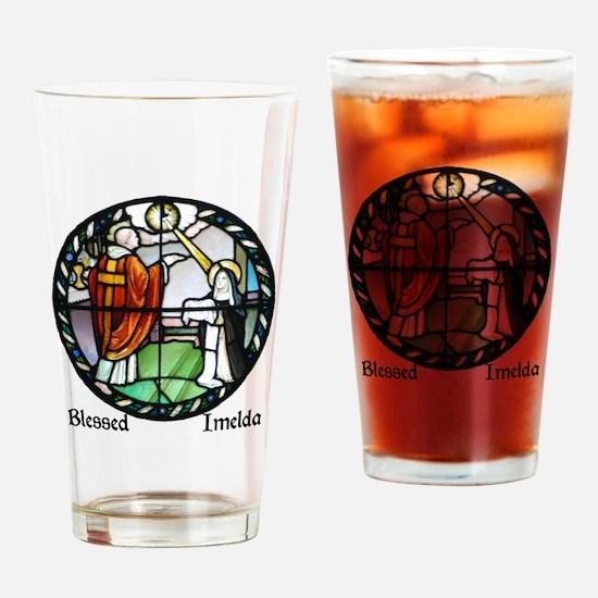 Blessed Imelda Drinking Glass