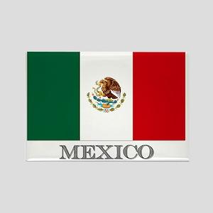 MEXICO FLAG Rectangle Magnet