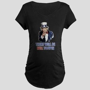 Uncle Sam Trump Maternity T-Shirt