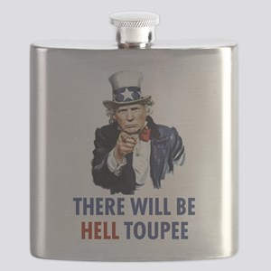Uncle Sam Trump Flask