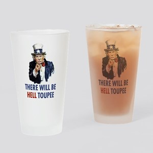 Uncle Sam Trump Drinking Glass