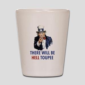 Uncle Sam Trump Shot Glass
