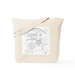 Food Cartoon 9270 Tote Bag