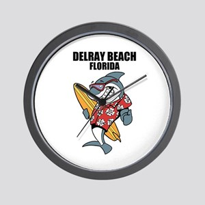 Delray Beach, Florida Wall Clock