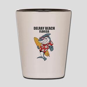 Delray Beach, Florida Shot Glass