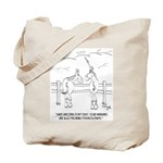 Migraine Cartoon 9280 Tote Bag