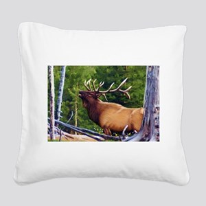The Bugler Square Canvas Pillow