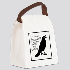 Quoth the Raven Canvas Lunch Bag