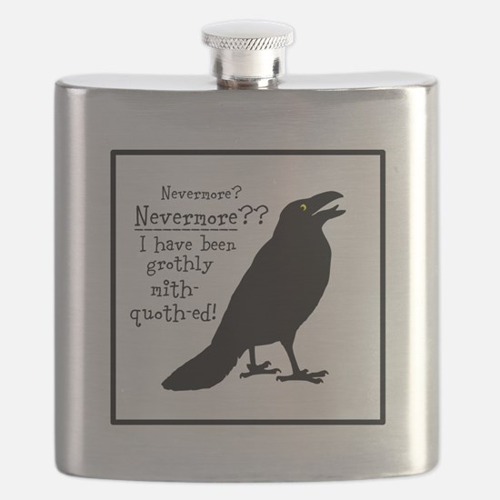 Quoth the Raven Flask