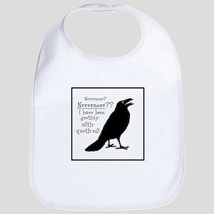 Quoth the Raven Bib