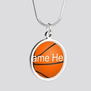 Personalized Basketball Ball Necklaces