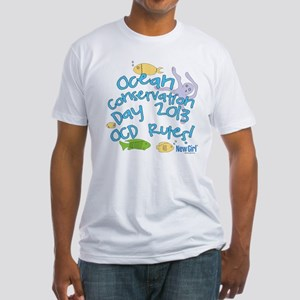 New Girl OCD Fitted T-Shirt