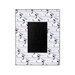 Blue Catfish Pattern Picture Frame
