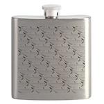Blue Catfish Pattern Flask