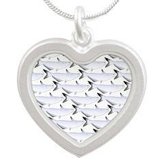 Blue Catfish Pattern Necklaces