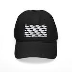 Blue Catfish Pattern Baseball Hat