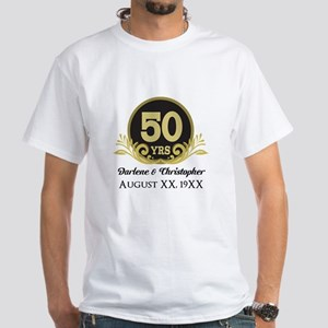 50th Anniversary Personalized T Shirt