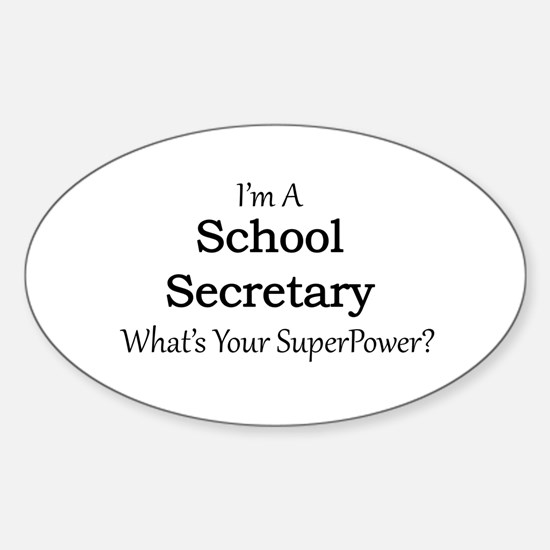 School Secretary Decal