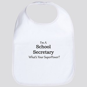 School Secretary Bib