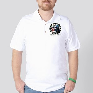 St Catherine of Siena Golf Shirt
