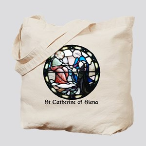St Catherine of Siena Tote Bag