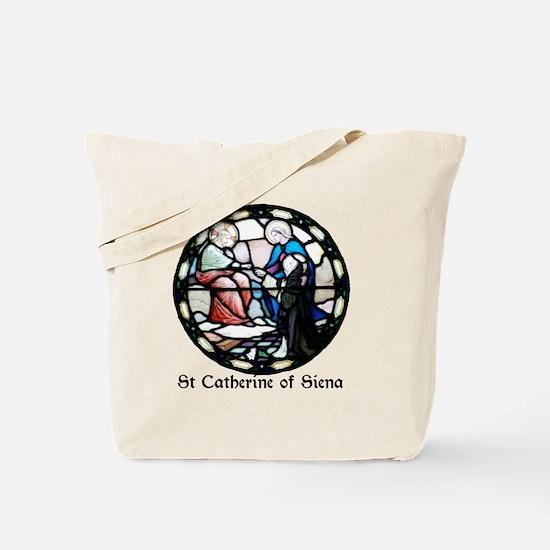 St Catherine of Siena Tote Bag