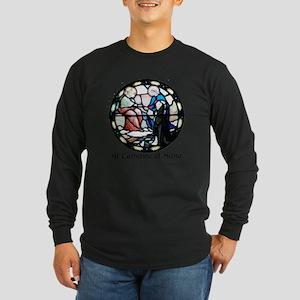 St Catherine of Siena Long Sleeve Dark T-Shirt