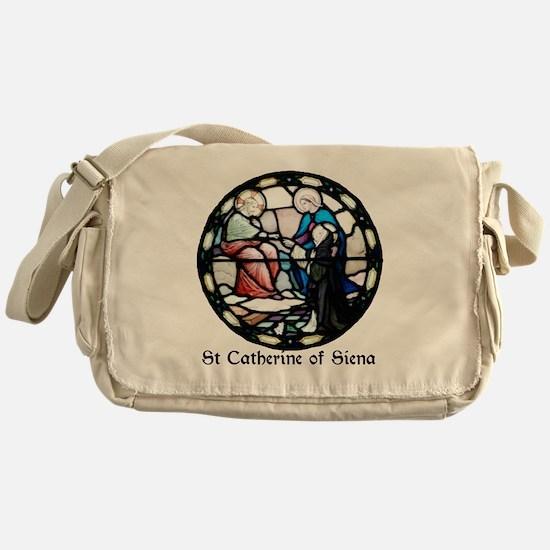 St Catherine of Siena Messenger Bag