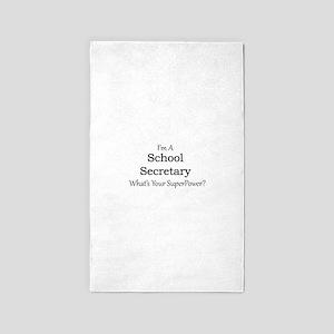 School Secretary Area Rug