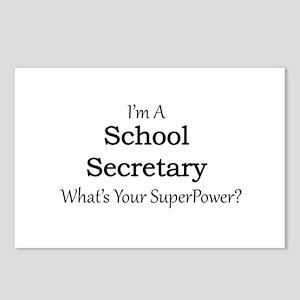 School Secretary Postcards (Package of 8)
