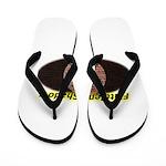 Spotted Ninja Flip Flops