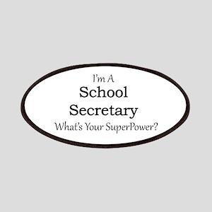 School Secretary Patch